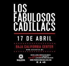 Los Fabulosos Cadillacs en el Baja California Center este 17 de abril Precios próximamente http://tjev.mx/LFCTj2016