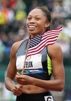 Allyson Felix, Women's Track and Field