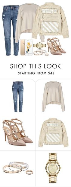 """""""Women's set nude, off white, valentino, marc jacobs, cartier"""" by dailyfasinsk on Polyvore featuring mode, H&M, Acne Studios, Valentino, Marc Jacobs en StreetStyle"""