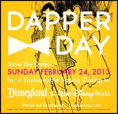 Dapper Day at Disneyland and Disney World. Walt Disney Co, Disney Day, Disney Love, Disney Magic, Disney Stuff, Disney Resorts, Disney Vacations, Disney Travel, Disney Dapper Day