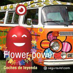 """Como todos los viernes, un nuevo artículo de nuestros #CochesDeLeyenda: """"Flower Power"""", porque, ¿Quién no ha soñado en protagonizar su propia road-movie buscando olas a lo largo de la costa californiana a bordo de la mítica furgoneta de Volkswagen?  ¡¡Que lo disfrutéis!!  http://blog.segurauto.com/coches-de-leyenda-flower-power/ #coches #automoviles #seguros #SeguroDeAutomovil #historia #SeguroDeCoche #hippie #namaste #FlowerPower"""