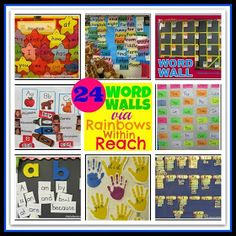 RainbowsWithinReach: Classroom Crashing: Word Walls