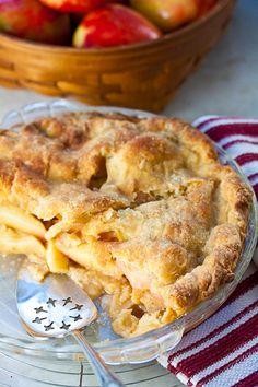 Homemade Apple Pie with Lemon Butter Crust