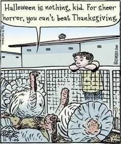 Halloween is nothing, kid. For sheer horror, you can't beat Thanksgiving #vegan
