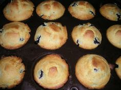 Easy Blueberry Corn Muffins #Muffins #Breakfast #Recipes