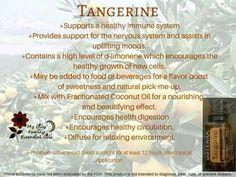 Tangerine Essential Oil Uses - doTERRA