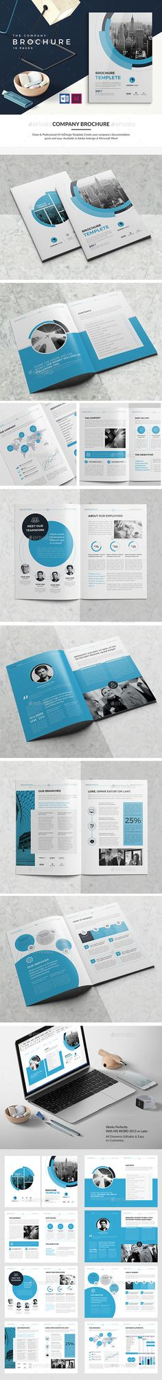 Brochure Bundle   Brochures Psd Templates And Brochure Template