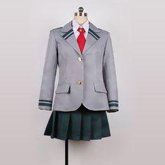 My Hero Academia School Uniform Cosplay Costume Boku no Hero Academia... ❤ liked on Polyvore featuring costumes, animal costumes, cosplay costumes, animal halloween costumes, cosplay halloween costumes and role play costumes