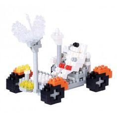 Le Rover lunaire • Indispensable au bon déroulement des missions Apollo 15, 16 et 17.