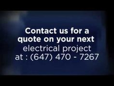 Mississauga Electricians | Mississauga Electrical Services | ThinkGreenElectrical.com Electrical Projects, Be Yourself Quotes, Marketing