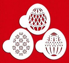 Designer Stencils C865 Faberge Easter Egg Stencils, Beige/Semi-Transparent > Quickly view this special deal, click the image : Baking desserts tools