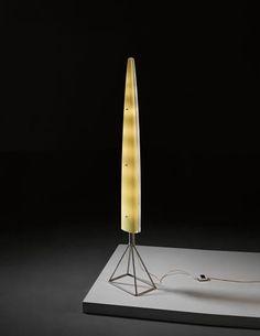 Gio Ponti. The best. KAGADATO selection. **************************************Gio Ponti, Rare 'Siluro' standard lamp