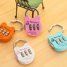 Cadeado Cute Digital Ressetable Mini Code Locks Travel Bags Luggage Lock Password Padlock Candado Cerradura Free Shipping K6609 #men, #hats, #watches, #belts, #fashion, #style, #sport
