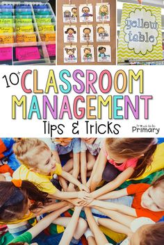 10 positive classroom management ideas and strategies that will help your classroom run smoother and keep kids engaged in their learning at school. Tons of FREE printable resources for the primary teacher included. #classroommanagement #classroomorganization #teacherfreebies #classroom #teachingtips