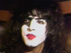 Paul Stanley, Hot Band, The World's Greatest, Halloween Face Makeup, Kiss, Painting, Painting Art, Paintings, Painted Canvas