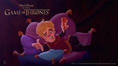 Disney is coming!: si la serie Juego de Tronos fuera de dibujos animados // Tyrion Lannister