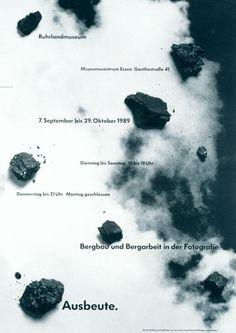 Uwe Loesch – Yield. Mining and Mining work in Photography, Ruhrlandmuseum Essen, 1989