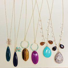 #boho #glamour #jewelry #necklaces