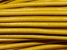 Greek Leather Cord 1.5mm Yellow from Nosek's Just Gems