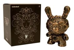 FAD 8inch Dunny by Jryu x kidrobot