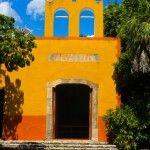 Capilla de la Hda San José Cholul.  Haciendas, Lujo Selvático.  #foodandtravelmx #destinos
