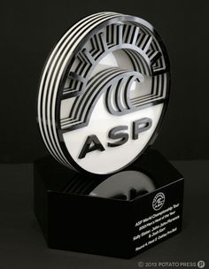 ASP-Awards-trophy-portrait-custom-lasercut-laser-cut-gold-coast-australia-bespoke-unique