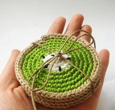 1000+ images about tricot sous-verres etc on Pinterest ...