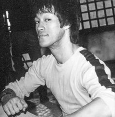 Bruce on set Game of Death
