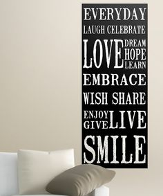Take a look at this Everyday Wall Canvas on zulily today!