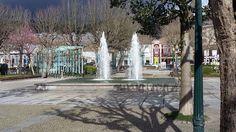 Foto capturada no Jardim Público Manuel Faria da cidade de Vizela no dia 05 de Março de 2016