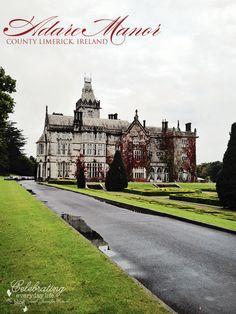 Adare Manor, Village of Adare, County Limerick, Ireland