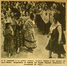 Carmen Amaya Exposicion Internacional de 1929