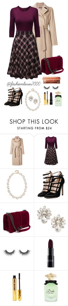 """go back to 60's"" by madalenacaetano on Polyvore featuring moda, MaxMara, WithChic, Stella + Ruby, Cara, Nasty Gal e Dolce&Gabbana"