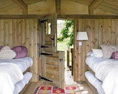 Awesome Rustic Garden Mini-House | Love the split doors!#Repin By:Pinterest++ for iPad#