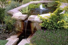 Garden Photos - traditional water fountain