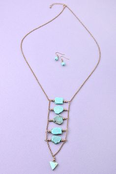Heart Breaker Gypsy Necklace from Gypsy Outfitters