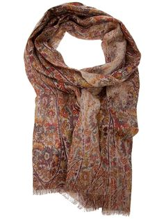 how 'bout something like a... Loro Piana floral scarf