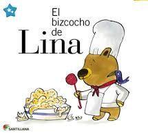 Lina un día iba a salir a jugar un rato y justo empieza a llover. Lina decide quedarse en casa y preparar un bizcocho.