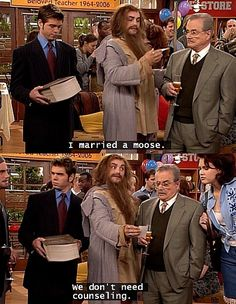 """I married a moose."" Boy Meets World"