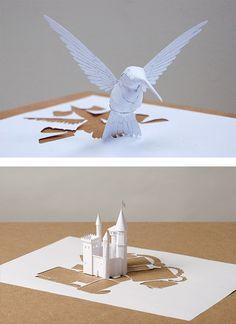 Paper Cut Sculptures by Peter Callesen | Inspiration Grid | Design Inspiration