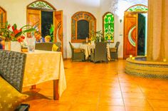 restaurant layout Casa Corcovado Near Corcovado National Park Osa Peninsula Costa Rica #travel #vacation #family