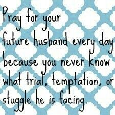 A Pinch of Classy: Praying for Your Future Husband {Part Two}