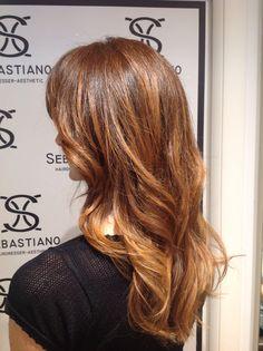 Sebastiano hairdresser.....biondo-Fragola...