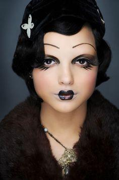 Make-up Your Mind: 1920's Make-up