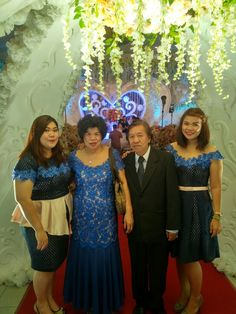 Blue Family portrait.. All dresses design and made by T.J.O.A #handmadedress #localbranddress #dressforparty #partygown #brandindonesia #fashiontv #fashionlook #gown #minidress #dresses #bluedresses #partydresses