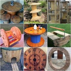 19 Brilliant Ways To Repurpose Empty Wire Spools