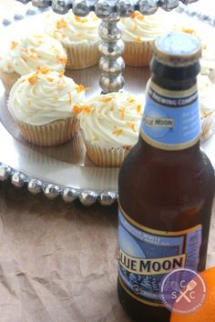 ideas about Blue Moon Cupcakes on Pinterest | Cupcake, Beer Cupcakes ...