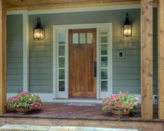 Stained Fiberglass Front Door With Sidelights And Transom Custom - Sidelights for front doors