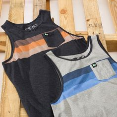 Keep cool and comfortable this summer in our new Tahoe Tank. Available in heather black and heather grey. Pick one up at your local surf and outdoor shop or snag one at http://www.hippytree.com/shop/tank-tops/tahoe-tank.html #thursdaysthreads #surfandstone