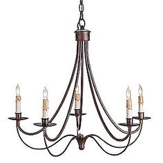 Cascade Chandelier by Currey and Company